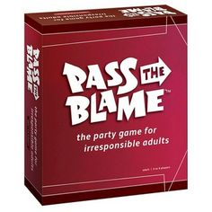 Pass the Blame Adult Party Game