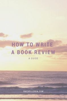helpful tips on how to write a book review for bloggers