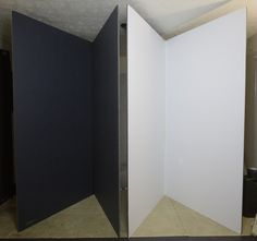 The Studio Essential - How To Construct High-Quality V-Flats And Why - Photography, Landscape photography, Photography tips Photography Studio Setup, Photography Equipment, Photography Backdrops, Light Photography, Photography Studios, Photography Classes, Photography Marketing, Photography Awards, Photography Women