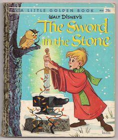 The Sword in the Stone / Walt Disney / Little by BooksPaperAndMore