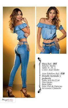 Colombian Butt Lift Jeans Levanta Cola