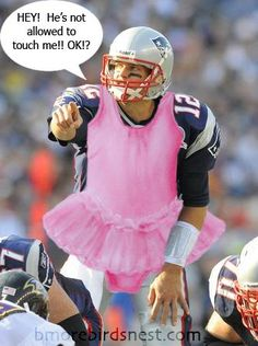This is a good color to Tom Brady lol