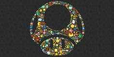 Super Mario Mosaic Wallpaper by Nintendo Wallpapers For Mobile Phones, Cute Wallpapers, Wallpaper Backgrounds, Iphone Wallpaper, Desktop Wallpapers, Mosaic Wallpaper, Mundo Super Mario, Super Mario Bros, Console Style