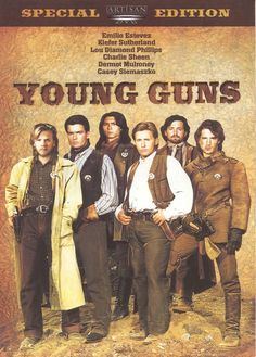 Young Guns-im starting to realize i watched alot of movies based on hot guys back in the days,lol!
