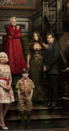 Directed by Bryan Singer.  With Jerry O'Connell, Portia de Rossi, Charity Wakefield, Mason Cook. Grandpa Sam Dracula is essentially Dracula who assembled Herman because no man was good enough for his daughter Lily, a sexy vamp. Lily's niece Marilyn the freak is actually normal and Lily and Herman's only child, Eddie, has his werewolf tendencies surface in puberty, forcing the family to relocate to their famous 1313 Mockingbird Lane address.