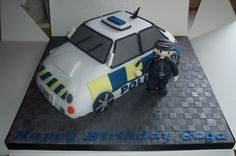 The Ultimate Model Police Car (cake) [EXPLORED] | Flickr - Photo Sharing!