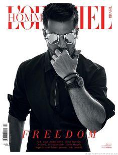 Male Fashion Trends: L'Officiel Hommes Brasil presenta cuatro portadas para su edición No. 14°