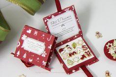 Christmas Cookies Gift Box XMAS Dollhouse by PetitDlicious