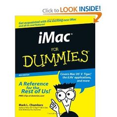 I thought iMacs were for Dummies?