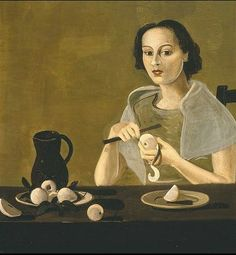 Andre Derain, Young Girl Peeling Fruit, 1938-39