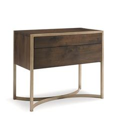 Artisans Nightstand : Modern Artisan : Closed Storage : ats-nitstd-001L | Caracole Light Furniture