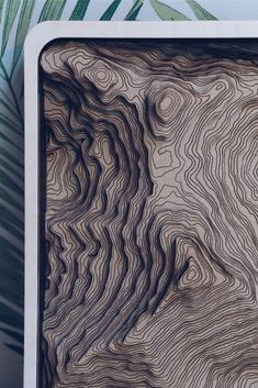 This Mount Everest topographic map is made from 11 layers of wood. 9 hours from start to finish. Coffee Shop Branding, Topography Map, Wooden Map, Landscape Architecture Drawing, 3d Cnc, 9 Hours, Paper Weaving, Custom Map, Map Design