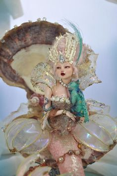 Barboque Rococo Mermaid Siren by *SutherlandArt on deviantART