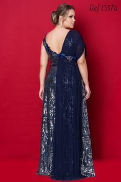 Vestidos Plus Size - Aiza Collection