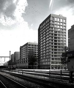 Europaallee Baufeld F, Zürich | Boltshauser Architekten, Zürich, Schweiz