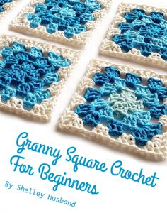Beginner's Granny Square #Crochet ebook free from Spincushions