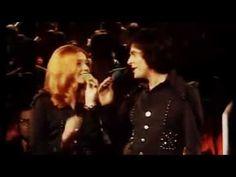 """1973 Cindy & Bert """"Immer wieder Sonntags"""" in der ZDF-Hitparade :-D Da sass noch die ganze Familie vor'm Fernseher"""