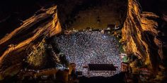 Find out why Red Rocks Amphitheater is America's most epic venue
