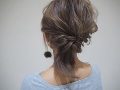"yu nakamura ヘアアレンジ hairarrange on Instagram: ""毛量が多い方におすすめ♪ 簡単に可愛く(^^) #一宮市#名古屋#栄 #ヘアアレンジ #ショート#レイフィールド"" Hair Arrange, Hair Inspiration, Hair Color, Hair Beauty, Make Up, Long Hair Styles, Thin Hair, Hairstyles, Instagram"
