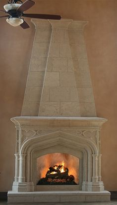 If you wish to begin on integrating a fireplace into your house, a pure stone fireplace might be the best option for you! Stone fireplace A stone veneer fireplace doesn't only appears trendy and fashionable, but it's also among the… Continue Reading → Stone Veneer Fireplace, Brick Fireplace Makeover, Fireplace Hearth, Fireplace Surrounds, Fireplace Design, Library Fireplace, Fireplace Modern, Home Design Decor, House Design