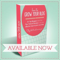 New e-book just for bloggers… How to grow your blog ( 30  bloggers share tips!)