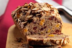 cranberry almond loaf gluten free bread