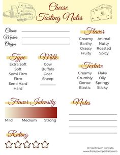 INSTANT DOWNLOAD Cheese Tasting Party, Virtual Holiday Game, Printable Cheese Rating Notes, Cheese Lover Gift, 1 PDF Cheese And Wine Tasting, Wine Tasting Party, Beer Tasting, Holiday Cookies, Holiday Desserts, Holiday Recipes, Housewarming Gift Ideas First Home, New Address Cards, Farewell Gifts