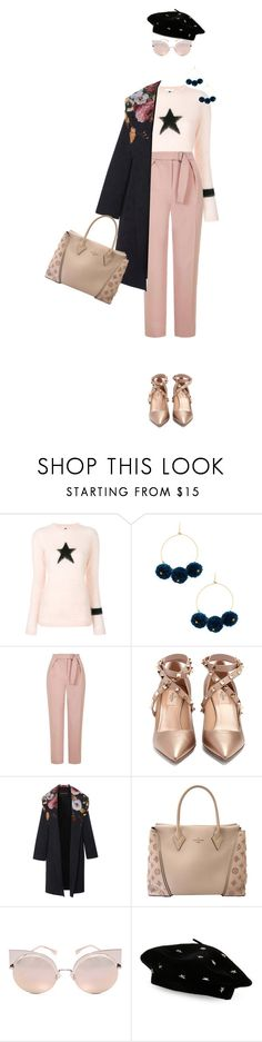 """""""Star Outfits"""" by destyanaar3 on Polyvore featuring Bella Freud, Chan Luu, Topshop, Valentino, Louis Vuitton, Fendi, Steve Madden and StarOutfits"""