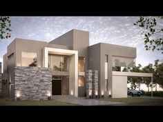 Awesome Casas Modernas Maxresdefault Design Ideas for Your Home Decorating and Home Remodeling of The Years Villa Design, Modern House Design, Home Design, Design Ideas, Contemporary Architecture, Interior Architecture, Contemporary Stairs, Contemporary Building, Contemporary Cottage