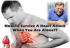SURVIVE A HEART ATTACK ALONE -If heart is beating improperly, feel faint, have about 10 seconds  to react before losing consciousness. However, these victims can help themselves by the following ways. By coughing repeatedly and very vigorously. A deep breath should be taken before each cough, cough must be deep & prolonged, like you were coughing up mucus from deep inside your chest. Repeat about every 2 seconds without letting up until help arrives, or until your heart is beating normally.