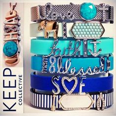 Keep collective  Charm bracelet and necklace  www.keep-collective.com/with/erinf