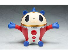 """Aniplex+ is kicking off a new line of """"Q-Vee"""" soft vinyl figures with an 18 cm (7.09 inch) Teddie from Persona 4 the Golden ANIMATION. #P4G"""