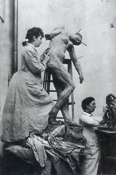 Camille Claudel y Jessy Lipscomb 1896 Más