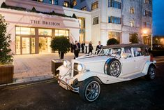 Kayleigh and Daniel chose to arrive in this beauty from Horans Wedding Cars Wedding Suits, Our Wedding, Wedding Venues, Wedding Cars, Private Dining Room, Civil Ceremony, Industrial Wedding, Wedding Wishes, Getting Married