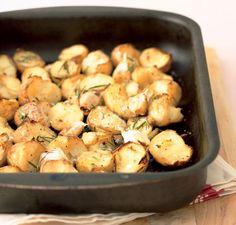 Roasted Rosemary Potatoes (Vegan Recipe)