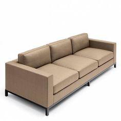 Christian Liaigre, Inc. Mousson Sofa on The Cedrus Loveseat Sofa, Sofa Chair, Sofa Set, Sectional Sofa, Couch, Sofa Design, Furniture Design, Mid Century Modern Furniture, Modern Sofa