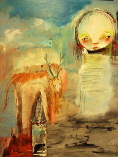 Mindys Girl by MarieStarkART on Etsy, $18.50