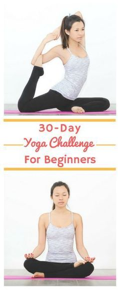 30 Day Yoga Challenge for Beginners This amazing 30 day yoga challenge for beginners is made up of daily videos to help you with weightloss, toning, meditation and flexibility. The videos are easy to do at home and can also help you manage stress and de Yoga Beginners, Workout For Beginners, Yoga For Beginners Flexibility, Kundalini Yoga, Yoga Meditation, Zen Yoga, Yoga Inspiration, 30 Tage Yoga Challenge, Yoga Fitness