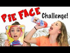 Pie Face Challenge | Brooklyn and Bailey - YouTube