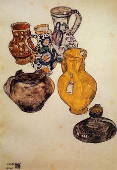 Egon Schiele - still life