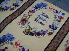 Little Golden Books Fabric   Little Golden Books fabric   Crafts   Pinterest