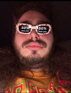 (Post Malone) miss you fuck you Stupid Funny Memes, Funny Relatable Memes, Haha Funny, Snapchat Stickers, Meme Stickers, Humour Snapchat, Funny Snapchat, Snapchat Selfies, Post Malone Wallpaper