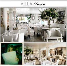 Villa Blanca. Yum.