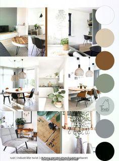 Excepcional Un salón de Moodboard duro  #moodboard #salon #furniture