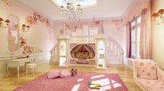 princess castle bed theme - Princess Room Decoration for Your . Kids Princess Bed, Princess Theme Bedroom, Princess Castle Bed, Princess Bedrooms, Princess Room, Teen Girl Bedrooms, Room Girls, Pink Princess, Disney Princess