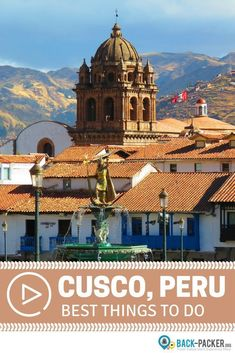 The ultimate 2-week guide to exploring Cusco and the greater Cusco region in Peru. Best things to see and do + top inca treks in the area including a multi-day hike to Machu Picchu and completing the Lares Trek. Travel in South America. | Back-Packer.org #AustraliaTravel2Weeks #southamericatravel