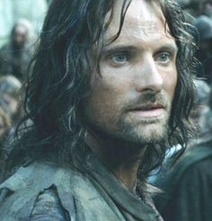 This might be the best screen-capture of Aragorn ever.