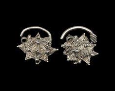 Viking silver ear ornaments - Historiska