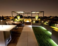 dachterrasse gestaltung treppen leuchtend pflanzen baume topf terasser pinterest verandas. Black Bedroom Furniture Sets. Home Design Ideas