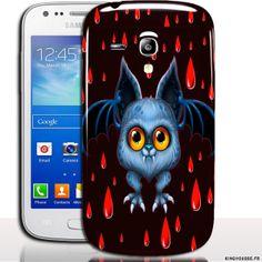 Coque samsung galaxy s3 mini Rigide Vampiboux - Coque Mobile Samsung. #etui #SamsungGalaxy #S3Mini